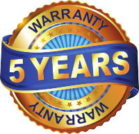 5 year warranty lifting concrete with grout