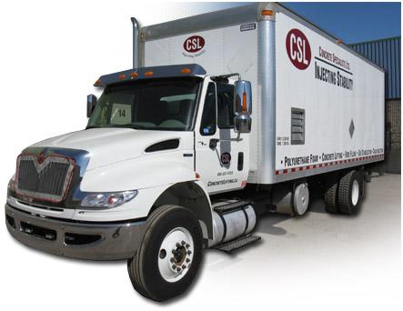 polyurethane truck